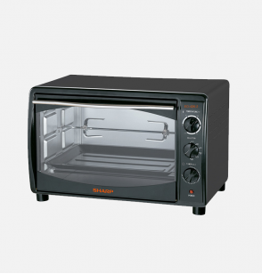 SHARP Electric Oven 42 Litre , 1800 Watt in Black Color With Grill and Fan EO-42K-2