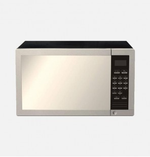 (SHARP Microwave Grill 34 Litre, 1000 Watt in Stainless Color With Grill and 9 Cooking Menus R-770AR(ST