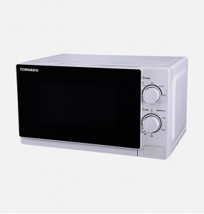TORNADO Microwave Solo 20 Litre, 700 Watt in White Color TM-20MW