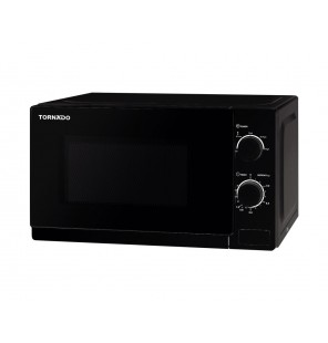 TORNADO Microwave Solo 20 Litre, 700 Watt in Black Color TM-20MK