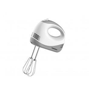 TORNADO Hand Mixer 120 Watt With 5 Speeds In White Color HM-120T