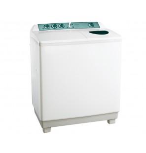 غسالة ملابس توشيبا هاف أوتوماتيك 12 كيلو لون أبيض مزودة بموتورين VH-1210S