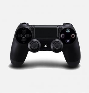 ذراع تحكم لاسلكى لبلاى ستيشن 4 - سونى DualShock 4 أسود (نسخة الشرق الأوسط)