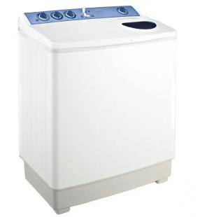 غسالة ملابس توشيبا هاف أوتوماتيك 6 كيلو لون أبيض مزودة بموتورين VH-620
