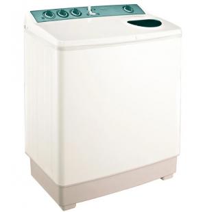 غسالة ملابس توشيبا هاف أوتوماتيك 7 كيلو لون أبيض مزودة بموتورين VH-720