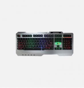 توبى (KB305) - لوحة مفاتيح Multimedia Metal مضيئة للألعاب