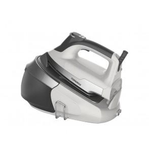 TORNADO Steam Generator Iron 2400 Watt With Ceramic Soleplate In Gray x White Color TSS-2400