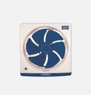 شفاط مطبخ توشيبا مقاس 25 سم × 25 سم لون أزرق غامق أو أوف وايت مزود بدرج لتجميع الزيوت VRH25J10