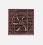 شفاط حمام توشيبا مقاس 20 سم × 20 سم لون بني أو أوف وايت مزود بشبكة للحماية والخصوصية VRH20S1