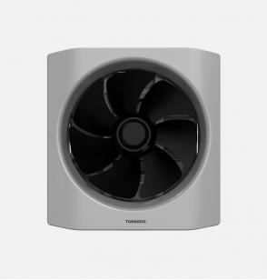 TORNADO Kitchen Ventilating Fan 25cm x 25cm In Grey x Black Color TVH-25BG