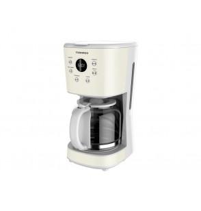 TORNADO Automatic American Coffee Maker 1.5 Liter, 900 Watt in White Color TCMA-915D