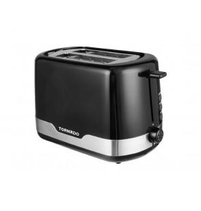 TORNADO Toaster 2 Slices , 850 Watt In Black Color TT-852-B