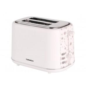 TORNADO Toaster 2 Slices , 720-850 Watt In White Color TT-852-C