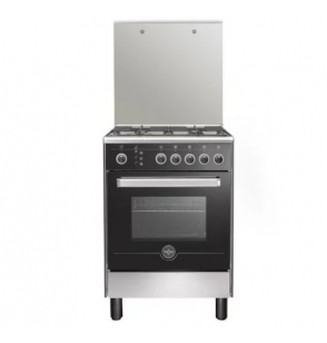 LA GERMANIA Freestanding Cooker 90 x 60 cm 5 Gas Burners In Stainless Steel Color 9C103RC1X41WW