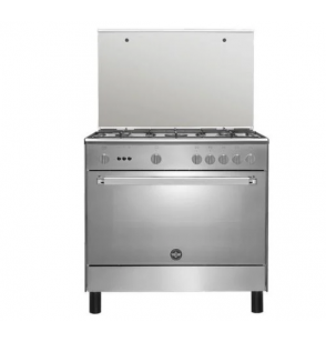 LA GERMANIA Freestanding Cooker 90 x 60 cm 5 Gas Burners In Stainless Steel Color 9C10GLA1X4AWW  1 Review(s)