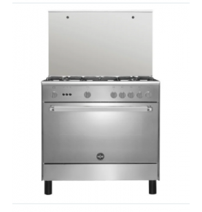 LA GERMANIA Freestanding Cooker 90 x 60 cm 5 Gas Burners In Stainless Steel Color 9C10GUB1X4AWW