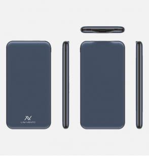 لافينتو MX485 باور بانك 10000مللي أمبير BD- Qick Charge - أزرق