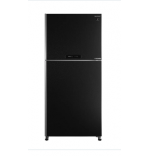 SHARP Refrigerator Inverter Digital No Frost 480 Liter , 2 Doors In Black Color SJ-PV63G-BK