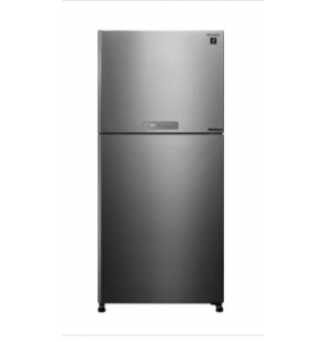 SHARP Refrigerator Inverter Digital No Frost 480 Liter , 2 Doors In Stainless Color SJ-PV63G-ST