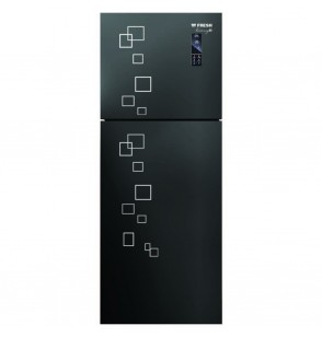 Fresh Refrigerator FNT-MR470 YGَQB ,376Liters Glass-Harmony