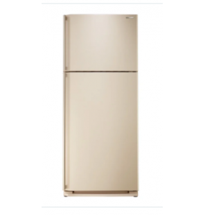 SHARP Refrigerator Digital No Frost 450 Liter, 2 Doors In Beige Color With Plasmacluster SJ-PC58A(BE)