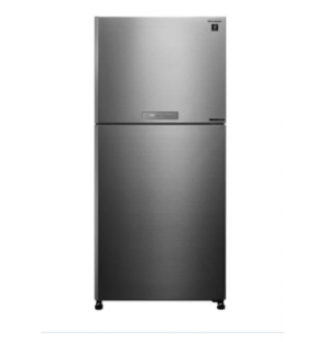 SHARP Refrigerator Inverter Digital No Frost 450 Liter , 2 Doors In Stainless Color SJ-PV58G-ST