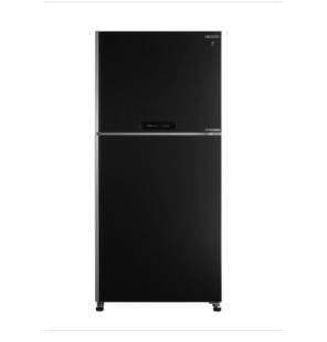 SHARP Refrigerator Inverter Digital No Frost 450 Liter , 2 Doors In Black Color SJ-PV58G-BK