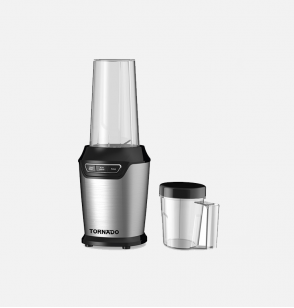 TORNADO Electric Blender 1000 Watt, 0.75 Litre With Extra 0.5 Litre Jar In Black Color TBL-1000W