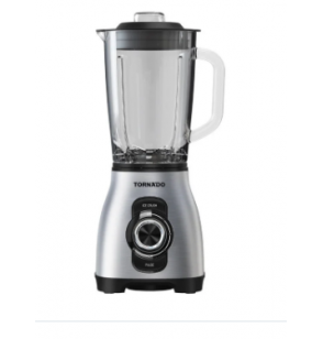 TORNADO Electric Blender 800 Watt, 1.75 Litre With 5 Speeds Control In Silver Color BL-800T