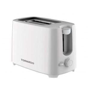 TORNADO Toaster 2 Slices 700 Watt In White Color TT-700