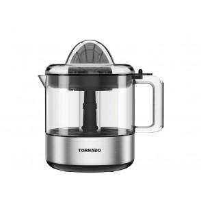 TORNADO Citrus Juicer 30 Watt and 1 Litre Capacity in Black x Silver Color CJ-30T