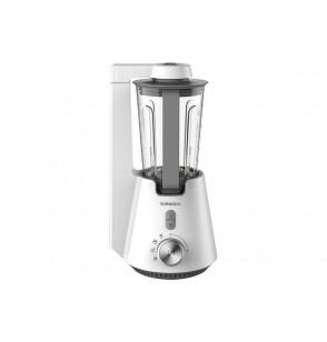 TORNADO Vacuum Blender 1000 Watt, 1.5 Litre With Extra 0.6 Litre Bottle In White Color TVBL-1000LI