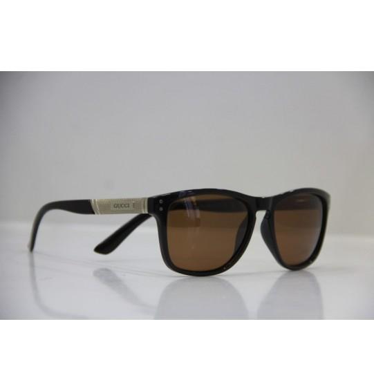Chic men sunglasses brown color