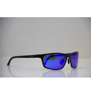 Men's blue eyes black sunglasses
