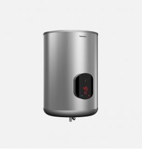 سخان مياه تورنيدو كهرباء 55 لتر مزود بشاشة ديجيتال لون سيلفر EWH-S55CSE-S