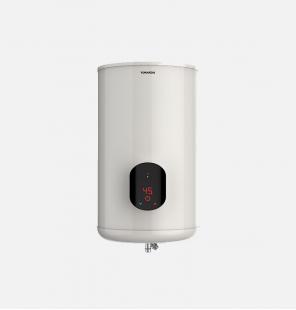 سخان مياه تورنيدو كهرباء 65 لتر مزود بشاشة ديجيتال لون أوف وايت EWH-S65CSE-F