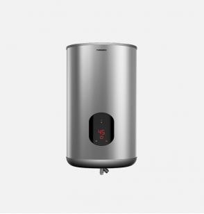 سخان مياه تورنيدو كهرباء 65 لتر مزود بشاشة ديجيتال لون سيلفر EWH-S65CSE-S